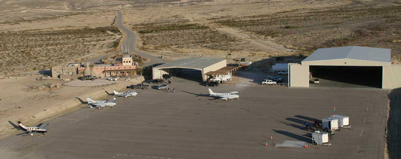 Hangars at Lajitas Golf Resort Airport