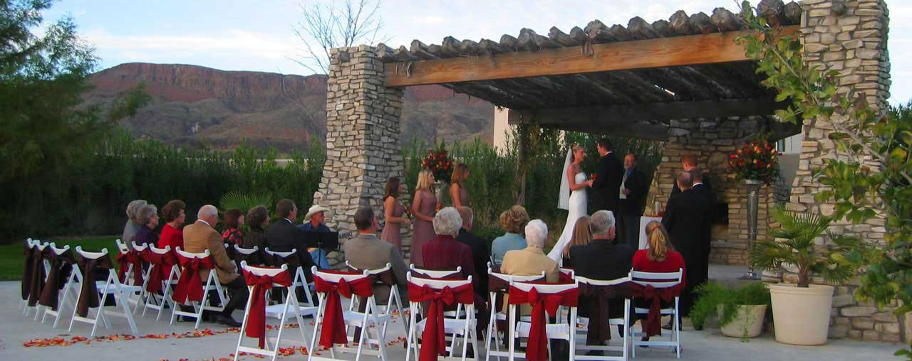 Weddings at Lajitas Golf Resort