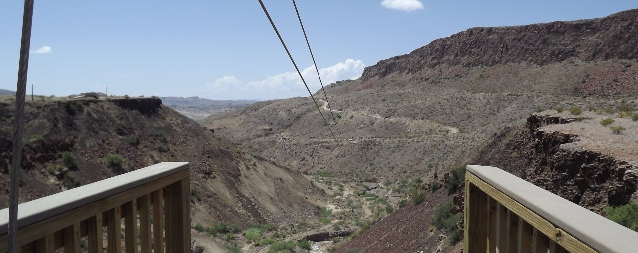 Lajitas Zipline Line 8 Great