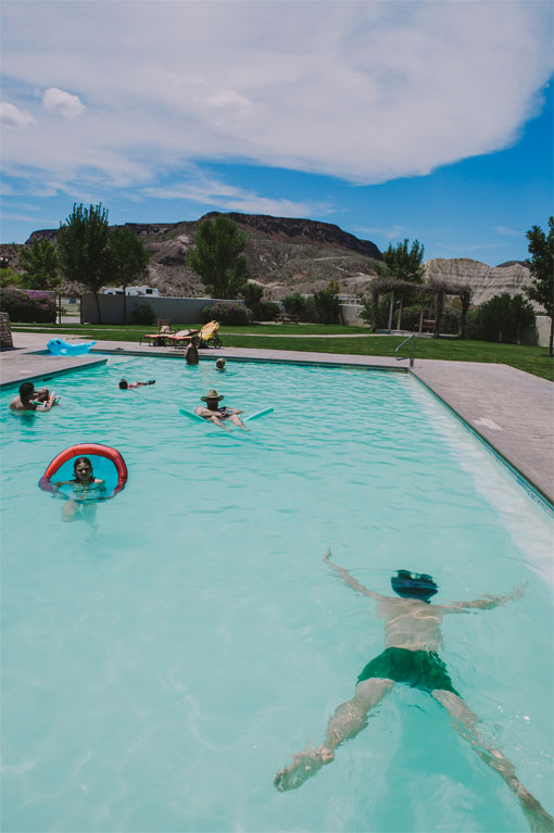 The Pool at Maverick Ranch