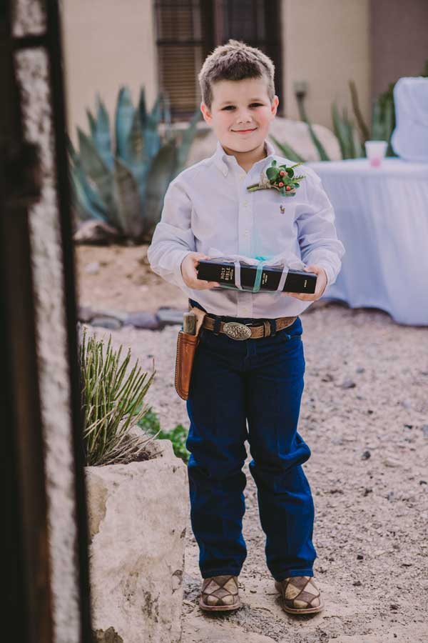 Ringbearer at The Chapel