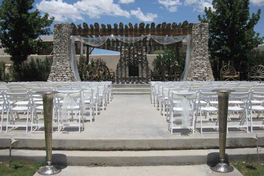 Wedding Setup at Cavalry Post